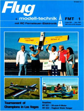 FMT - FLUGMODELL UND TECHNIK 01/1981