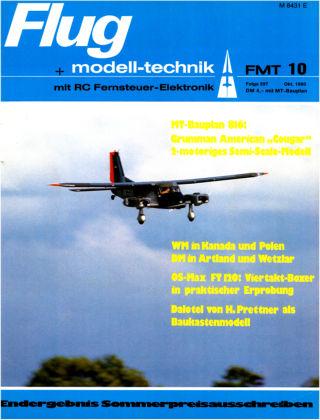 FMT - FLUGMODELL UND TECHNIK 10/1980
