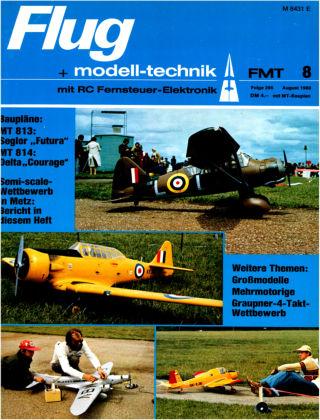 FMT - FLUGMODELL UND TECHNIK 08/1980
