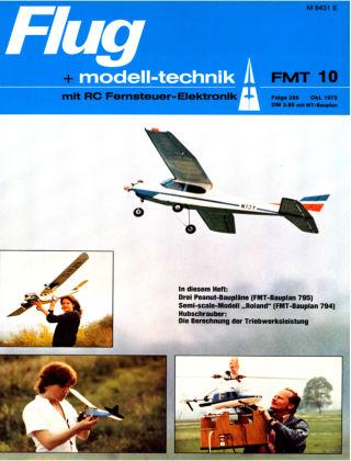 FMT - FLUGMODELL UND TECHNIK 10/1979