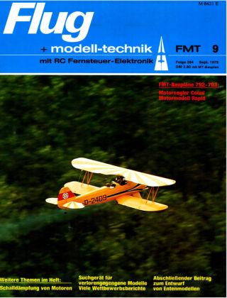 FMT - FLUGMODELL UND TECHNIK 09/1979