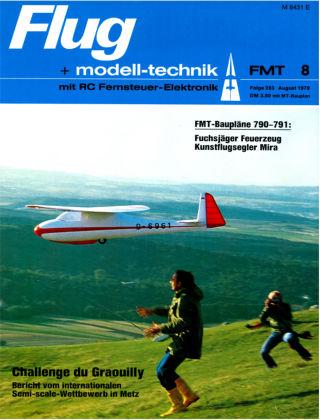 FMT - FLUGMODELL UND TECHNIK 08/1979