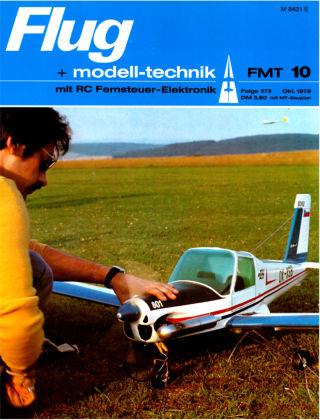 FMT - FLUGMODELL UND TECHNIK 10/1978