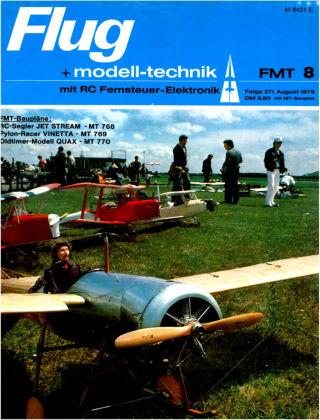 FMT - FLUGMODELL UND TECHNIK 08/1978