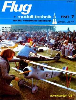 FMT - FLUGMODELL UND TECHNIK 07/1978