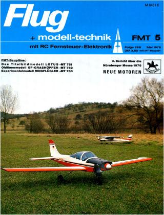 FMT - FLUGMODELL UND TECHNIK 05/1978