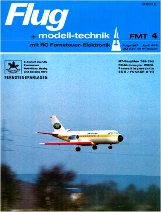 FMT - FLUGMODELL UND TECHNIK 04/1978