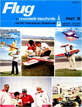 FMT - FLUGMODELL UND TECHNIK 02/1978