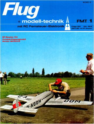 FMT - FLUGMODELL UND TECHNIK 01/1978