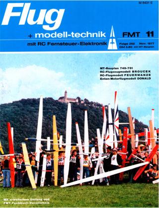 FMT - FLUGMODELL UND TECHNIK 11/1977