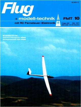 FMT - FLUGMODELL UND TECHNIK 10/1977