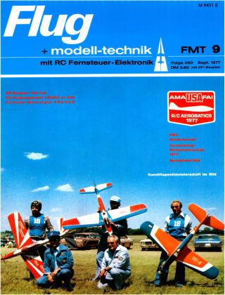 FMT - FLUGMODELL UND TECHNIK 09/1977