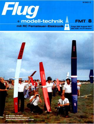 FMT - FLUGMODELL UND TECHNIK 08/1977
