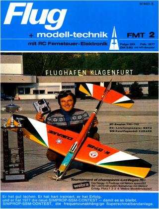 FMT - FLUGMODELL UND TECHNIK 02/1977