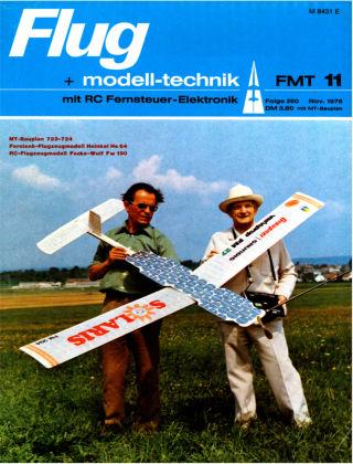 FMT - FLUGMODELL UND TECHNIK 11/1976
