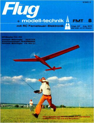 FMT - FLUGMODELL UND TECHNIK 08/1976