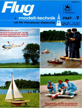 FMT - FLUGMODELL UND TECHNIK 07/1976