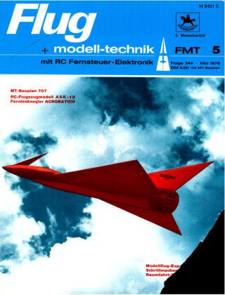 FMT - FLUGMODELL UND TECHNIK 05/1976