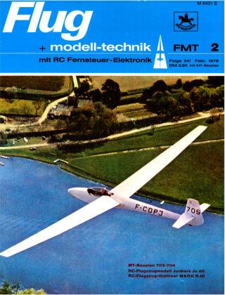 FMT - FLUGMODELL UND TECHNIK 02/1976