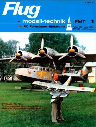 FMT - FLUGMODELL UND TECHNIK 01/1976
