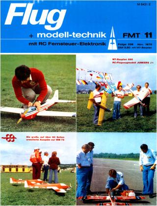 FMT - FLUGMODELL UND TECHNIK 11/1975