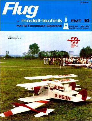 FMT - FLUGMODELL UND TECHNIK 10/1975