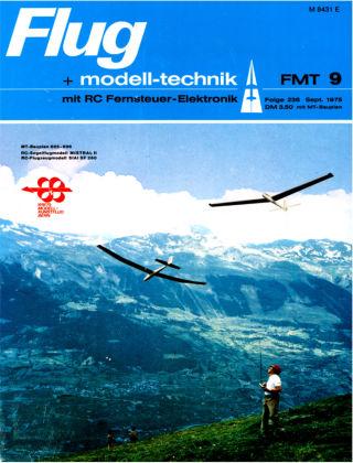 FMT - FLUGMODELL UND TECHNIK 09/1975