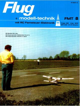 FMT - FLUGMODELL UND TECHNIK 08/1975