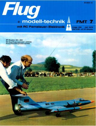 FMT - FLUGMODELL UND TECHNIK 07/1975