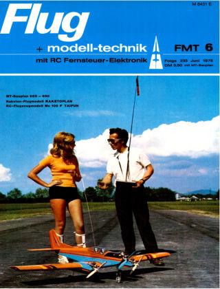 FMT - FLUGMODELL UND TECHNIK 06/1975