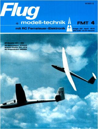FMT - FLUGMODELL UND TECHNIK 04/1975