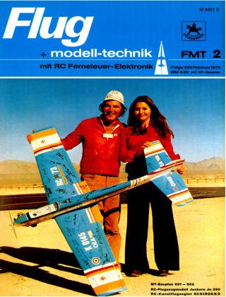 FMT - FLUGMODELL UND TECHNIK 02/1975