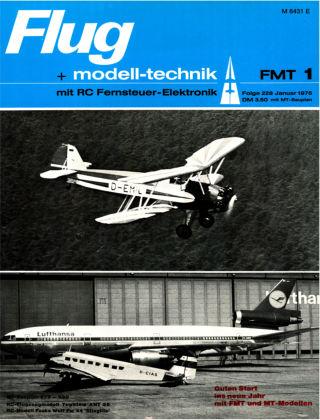 FMT - FLUGMODELL UND TECHNIK 01/1975
