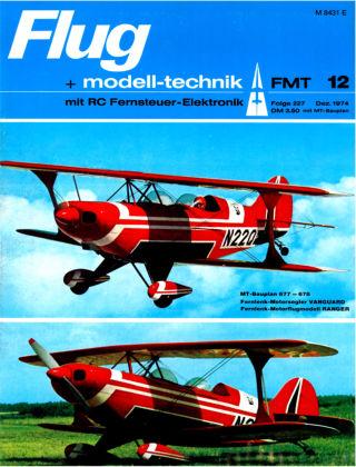 FMT - FLUGMODELL UND TECHNIK 12/1974