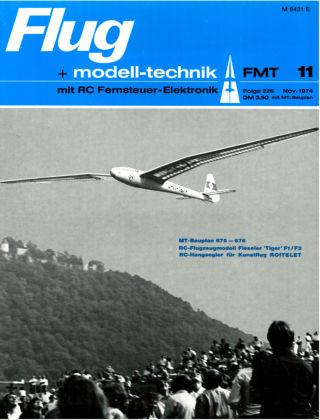 FMT - FLUGMODELL UND TECHNIK 11/1974