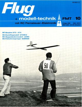 FMT - FLUGMODELL UND TECHNIK 10/1974