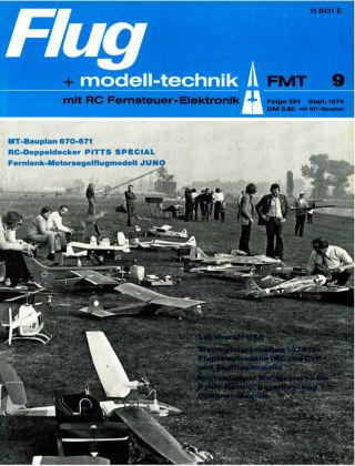 FMT - FLUGMODELL UND TECHNIK 09/1974