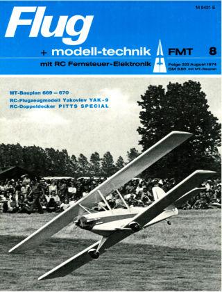 FMT - FLUGMODELL UND TECHNIK 08/1974