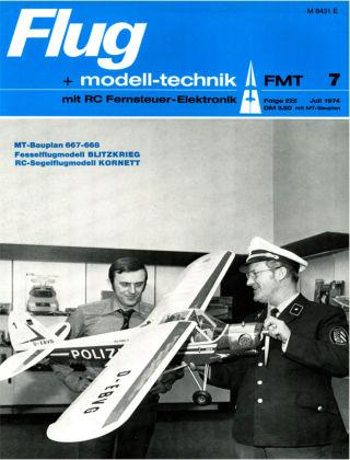 FMT - FLUGMODELL UND TECHNIK 07/1974