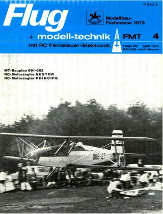 FMT - FLUGMODELL UND TECHNIK 04/1974