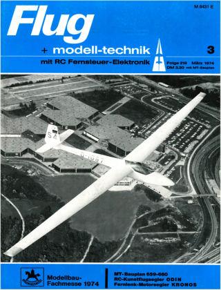 FMT - FLUGMODELL UND TECHNIK 03/1974