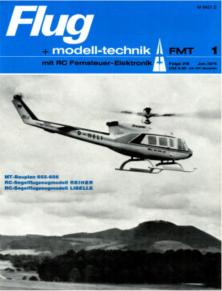 FMT - FLUGMODELL UND TECHNIK 01/1974