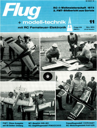 FMT - FLUGMODELL UND TECHNIK 11/1973