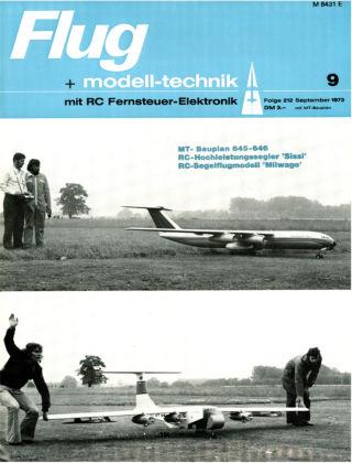 FMT - FLUGMODELL UND TECHNIK 09/1973