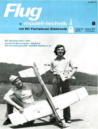 FMT - FLUGMODELL UND TECHNIK 08/1973