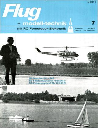 FMT - FLUGMODELL UND TECHNIK 07/1973