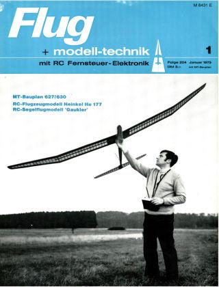 FMT - FLUGMODELL UND TECHNIK 01/1973