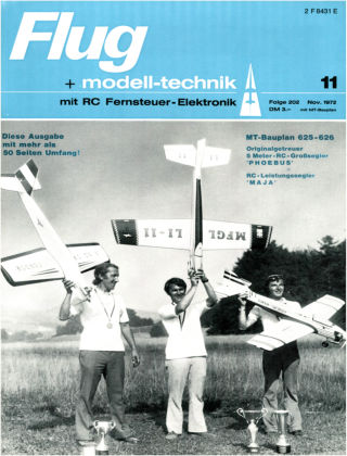 FMT - FLUGMODELL UND TECHNIK 11/1972