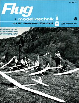 FMT - FLUGMODELL UND TECHNIK 08/1972