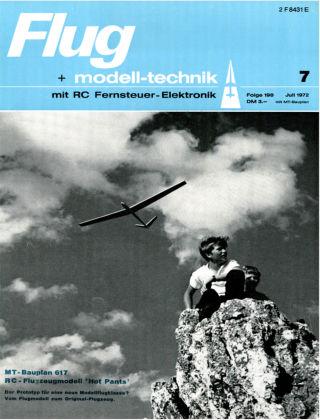 FMT - FLUGMODELL UND TECHNIK 07/1972